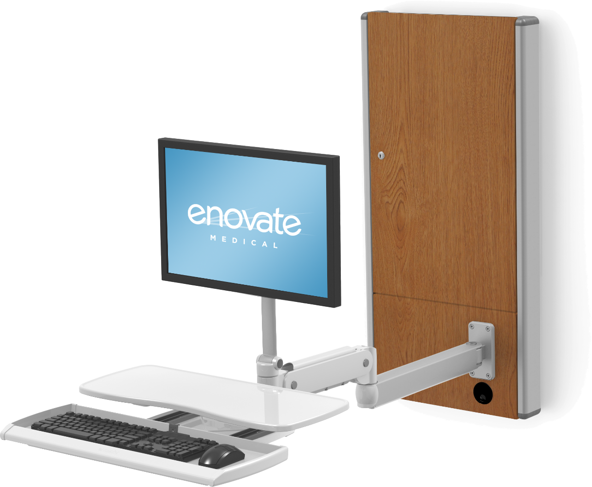 e130 with Extension Arm & eDesk
