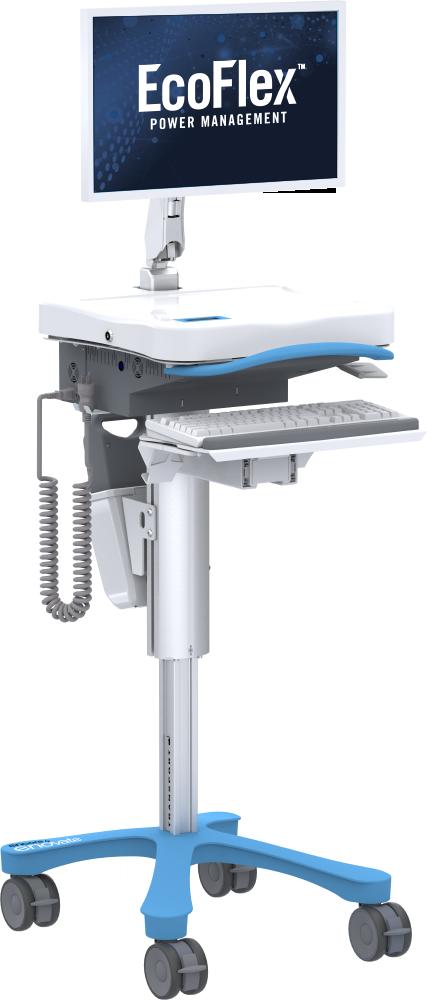 Enovate Medical Encore Mobile Workstation with EcoFlex